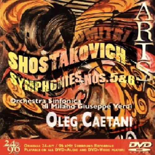 DVD : SHOSTAKOVICH / CAETANI / ORCH SINFONICA DI MILANO - Symphony 5 & 6