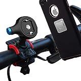 Bike Phone Holder,Universal Premium Bike Phone Mount for Bicycle,Handlebar Phone Mount for Bike & Motorcycle Holder Magnetic Phone Holder for All Smar