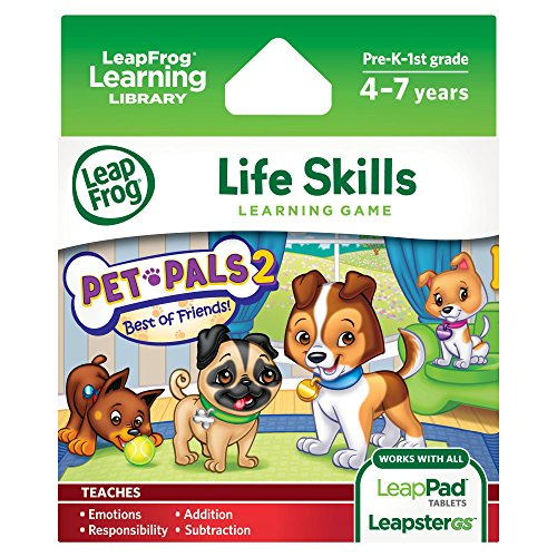 LeapFrog-Pet-Pals-2-Learning-Game-works-with-LeapPad-Tablets-LeapsterGS-and-Leapster-Explorer