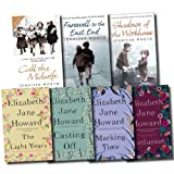 Elizabeth Jane Howard The Cazalet Chronicle Series and Midwife Trilogy Collection Elizabeth Jane Howard and Jennifer Worth 7 Books Set (The Light Years, Marking Time, Confusion, Casting Off, Call The Midwife, Farewell To The East End, Shadows Of The Work