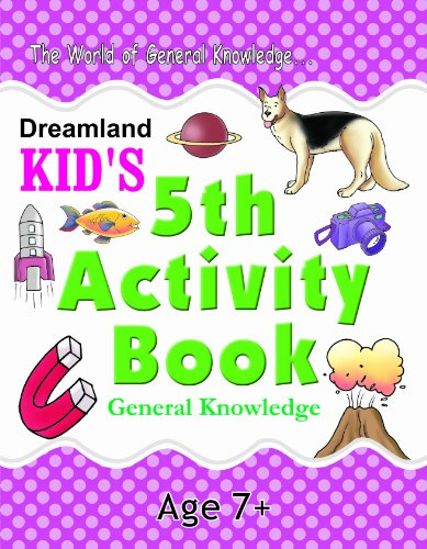 5th Activity Book - General Knowledge: IQ (Kid's Activity Books) Image