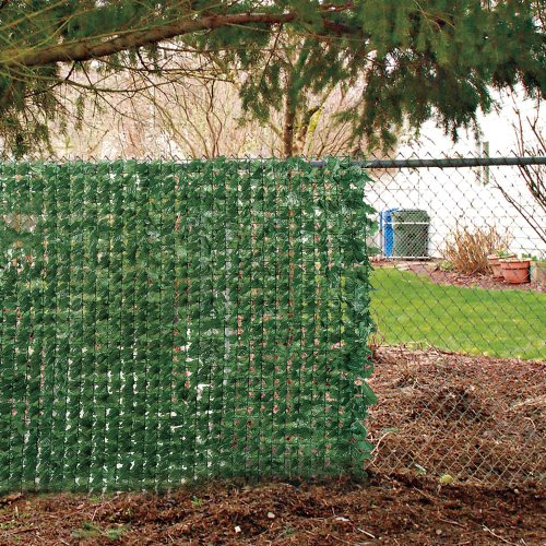 Faux ivy privacy screen decorative fences patio and for Natural outdoor privacy screens