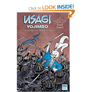 Usagi Yojimbo Volume 26: Traitors of the Earth by Stan Sakai