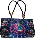 Czds India Women's Blue Handbag (BAG-21)