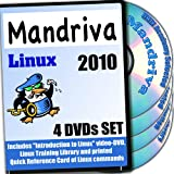 Mandriva 10 Linux, 4-disks DVD Installation and Reference Set Ed.2011