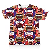Breadwinners: Monsters Pattern Print Tee - Youth