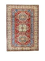 L'Eden del Tappeto Alfombra Kazak Super Rojo / Multicolor 150 x 209 cm
