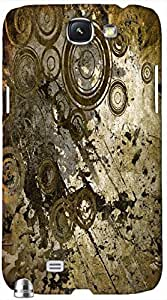Timpax protective Armor Hard Bumper Back Case Cover. Multicolor printed on 3 Dimensional case with latest & finest graphic design art. Compatible with only Samsung Galaxy Note II N7100. Design No :TDZ-20194