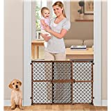 Summer-Infant-Secure-Pressure-Mount-Wood-and-Plastic-Deco-Gate