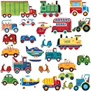 Roommates Rmk1132scs Transportation Peel Stick Wall Decals