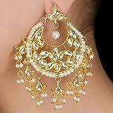 Kundan Jhalar Earrings