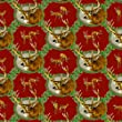 River\'s Edge Whitetail Deer Wrapping Paper, 28 x 80-Inch