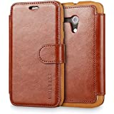 Moto G Case Wallet,Mulbess [Layered Dandy][Vintage Series][Coffee Brown] - [Ultra Slim][Wallet Case] - Leather Flip Cover With Credit Card Slot for Motorola Moto G [2013 1st Gen 4.5 inch]