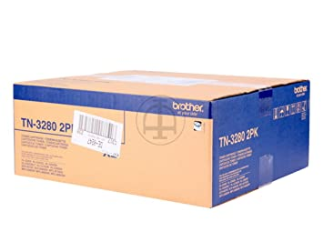 Brother HL-5340 D (TN-3280 TWIN) - original - 2 x Toner black - 8.000 Pages