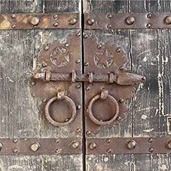 Antique Wood & Iron Garden Gate