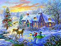Christmas Home - A 300 Piece Jigsaw Puzzle by SunsOut