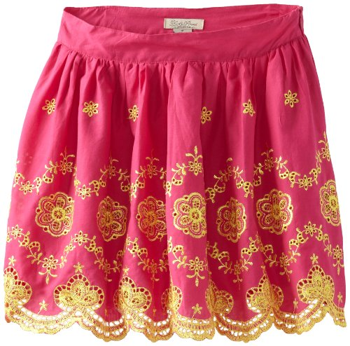 Lucky Brand Girls 7-16 Embroidered Skirt