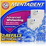 Mentadent Toothpaste, Advanced Whitening, 2Ct 5.25 oz. each (Pack of 3) - Best Reviews Guide