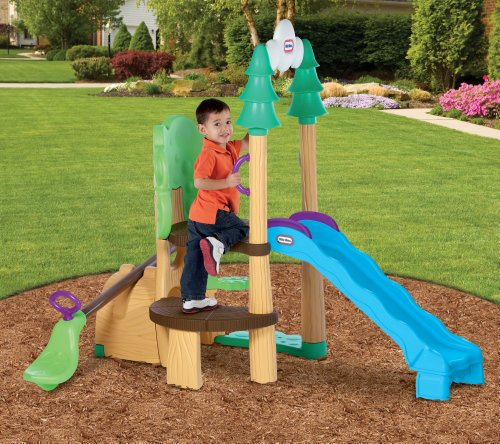Little tikes 1 2 3 climber see saw slide toys games for Little tikes outdoor playset
