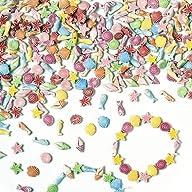 Mini Seaside Plastic Beads Shells Fis…