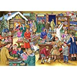 "1000 Piece Jigsaw Puzzle - 2014 Christmas Collectors Edition No.9 - Christmas Treats - ""NEW JULY 2014"""