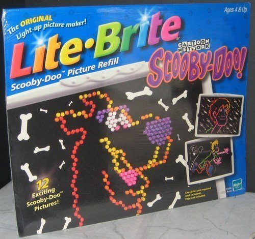 scooby-doo-lite-brite-picture-refill-set-by-hasbro