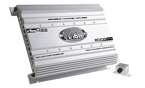 Lanzar VIBE422 Amplificateur de voiture 4 canaux 2000 W
