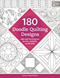 img - for 180 Doodle Quilting Designs: Free-Motion Ideas for Blocks, Borders, and Beyond book / textbook / text book