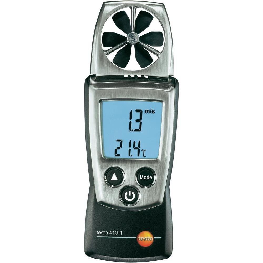 Testo 0560 4101 4101 FlügelradAnemometer mit integriertem NTC LuftThermometer, inklusive Schutzkappe, KalibrierProtokoll und Batterien  BaumarktKundenbewertung und weitere Informationen