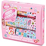 1000 x Stickers for Girls - Assorted Designs