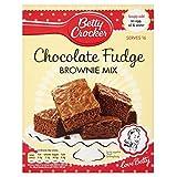 Betty Crocker Chocolate Fudge Brownie Mix (415g)