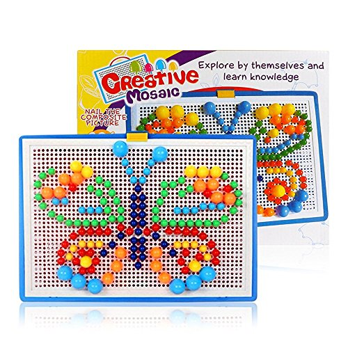 Puzzle-Pegboard-Sunsbell-296pcs-Mushroom-Nails-Jigsaw-Puzzle-for-Children