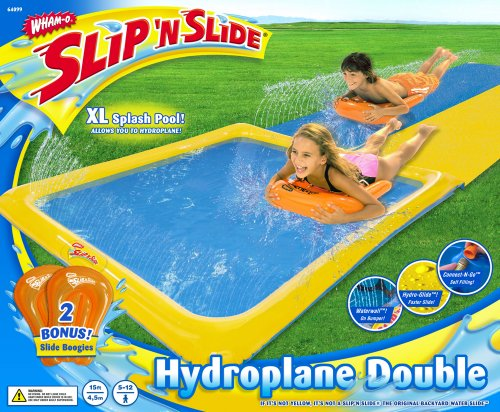 Best Review Of Wham-o Slip N Slide Hydroplane Double With 2 Slide Boogies