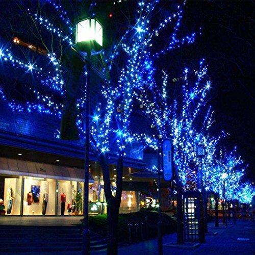 Generic 180 Led?Curtain Fairy Decorative Light Lighting Christmas Wedding Party Twinkle Eu Blue