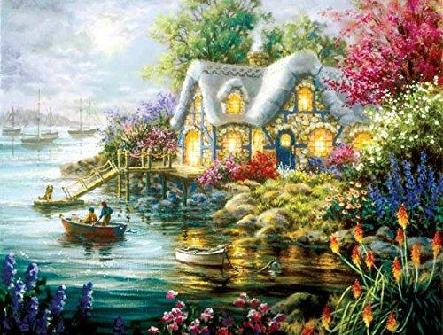 Cottage Cove a 300-Piece Jigsaw Puzzle by Sunsout Inc.