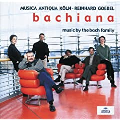 Bachiana I - Music by the Bach Family