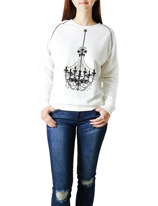 Women's Fashion Luxury Beaded Long Sleeve Sweatshirt