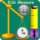 Kids Measurement Science - Length, Weight, Time and Money games