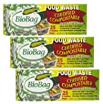 (3 Pack) BioBag Food Waste Kitchen Ba...