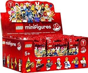 Lego Minifigures - 4648588 - Jeu de Construction - Série 7 - Boîte de 60 Sachets