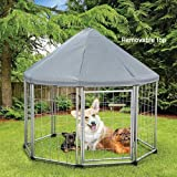 Etna Deluxe Pet Gazebo Pen with Removable Roof
