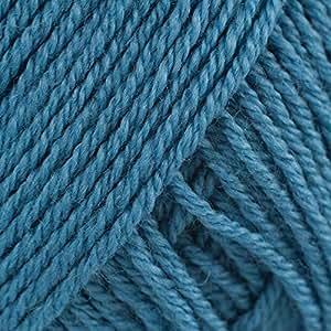 Amazon.com: Rowan Wool Cotton 4 Ply - Aqua (487)