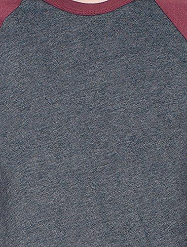 american-apparel-mens-poly-cotton-3-4-sleeve-raglan-shirt-heather-black-truffle-medium