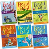 Roald Dahl Roald Dahl 6 Books Collection Pack Set (The BFG, Charlie and the Great Glass Elevator, Fantastic Mr Fox, The Magic Finger, Boy: Tales of Childhood, The Enormous Crocodile)