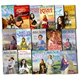 Anna Jacobs 16 Books Collection Pack Set RRP: �111.84 (Twopenny Rainbows, Star Of The North, Spinners Lake, Salem Street, Ridge Hill, Our Polly, Our Eva, Like No Other, Lancashire Lass, Jessie, High Street, Heart Of The Town, Hallam Square, Freedoms Land, Farewell To Lancashire, Beyond The Sunset)by Anna Jacobs