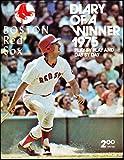 1975 Boston Red Sox Diary of a winner Program Fred Lynn