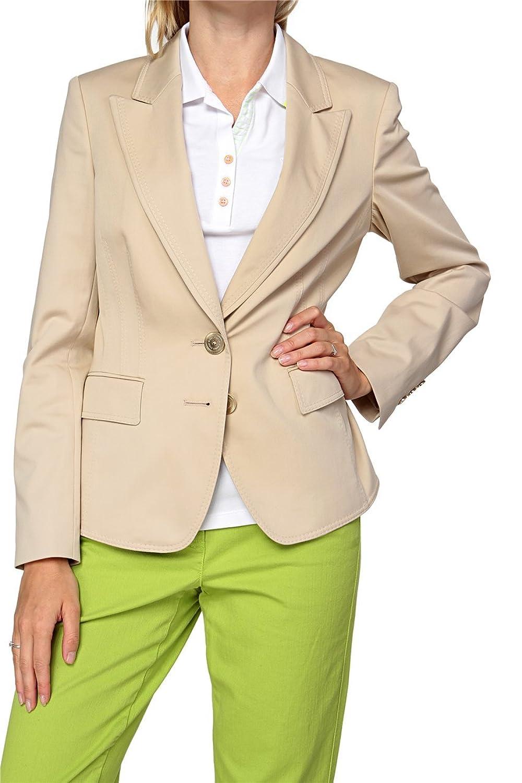 Basler Damen Blazer Jeansjacke BASIC, Farbe: Beige günstig bestellen