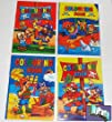 20 Mini Pirate Colouring Books A6 - 20 Girl or Boys Party Bag Fillers