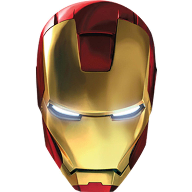 Ironman Mask Stencil Iron man mark 42 mask masks