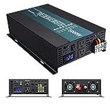 WZRELB Pure Sine Wave 5000W (10000W Surge) 24V Power Inverter DC to AC Power - Solar, RV (Tamaño: 5000W 24V)